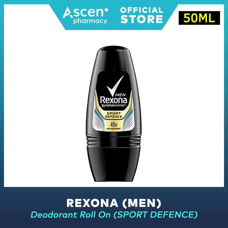 REXONA Deodorant Roll On (Men) [50ml] - Sport Defence