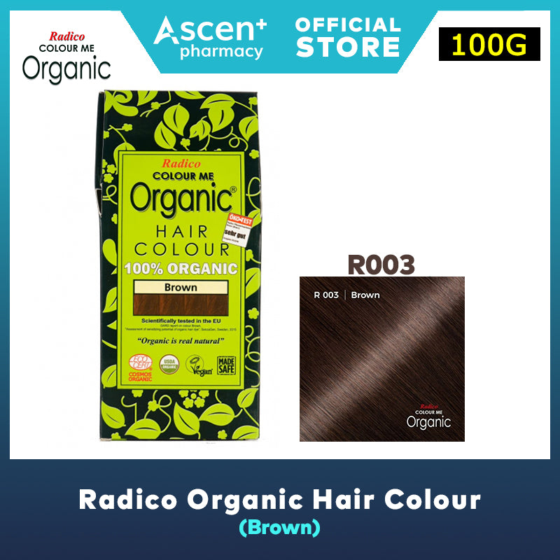 RADICO Organic Hair Colour [100g] - Brown
