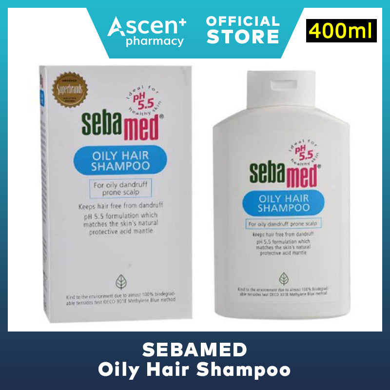 SEBAMED Oily Hair Shampoo [400ml]