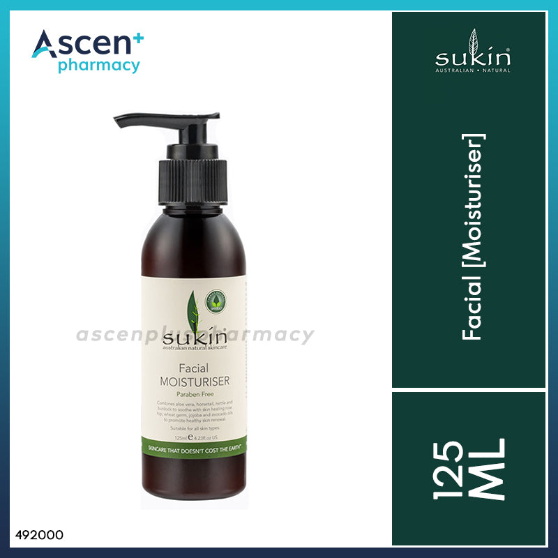 SUKIN Facial Moisturiser [125ml]