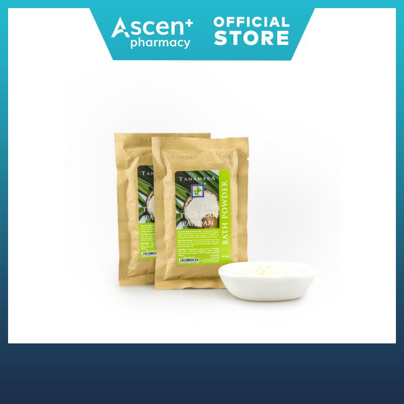 Tanamera Tropical Pandan Bath Powder 50g