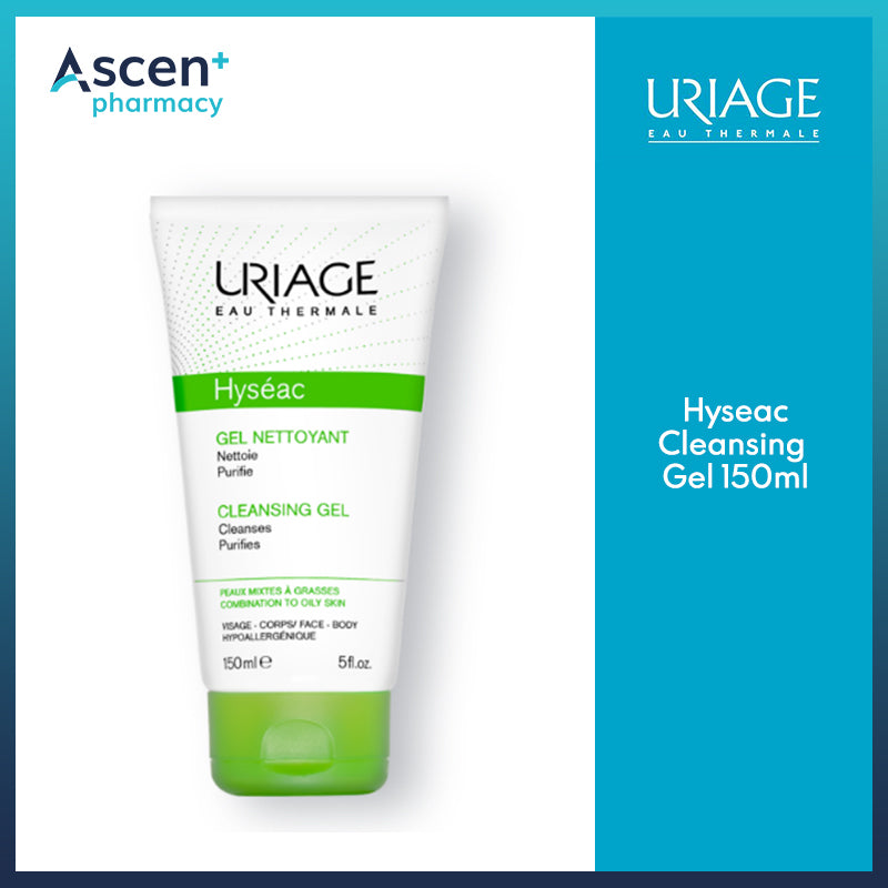 URIAGE Hyseac Cleansing Gel [150ml]