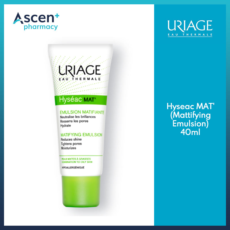 URIAGE Hyseac MAT' (Mattifying Emulsion) [40ml]