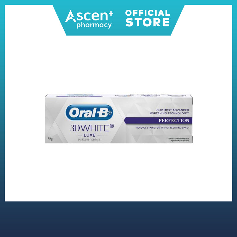 ORAL-B 3D White Luxe Toothpaste [95g] Perfection