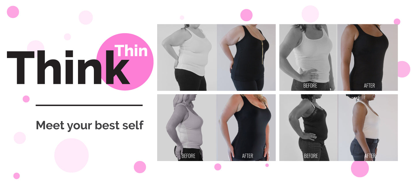 before and after results of 3 in 1 garment slimming shaper bra Tank top sculpt curves