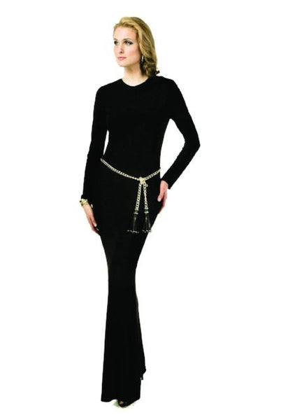 Tracey Long Sleeve Tee Gown