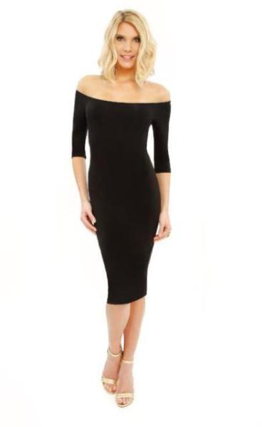 Luanne Off the Shoulder  Dress - ParisGordon.com