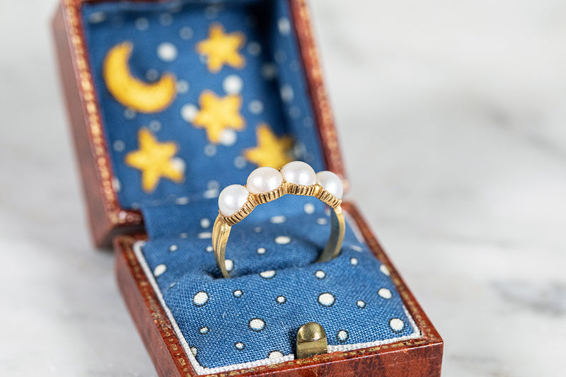 South Sea Pearl Ring set in 18ct Yellow Gold