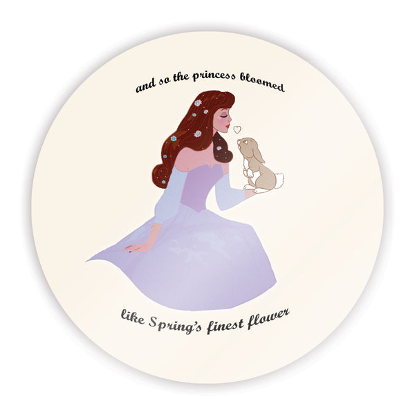 Spring Princess Sticker
