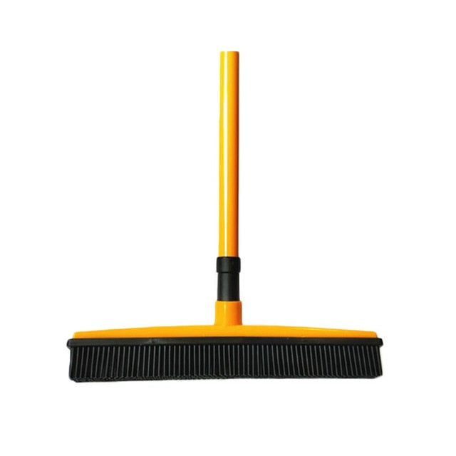 Adjustable Broom Hair Dust Rubber  Pet Scraper Brush Carpet Cleaner Sweeper Wash Mop Floor Telescopic Wipe Window Cleaner