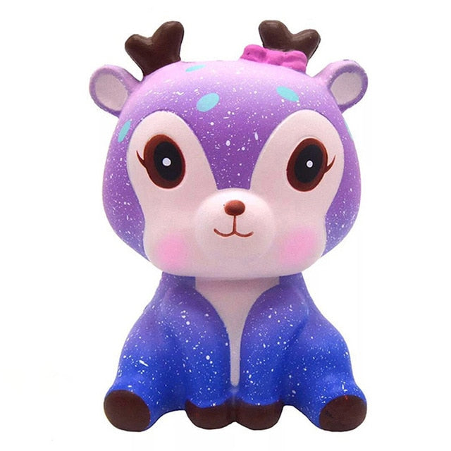 Jumbo Kawaii Popcorn Fries Panda Squishy Cake Deer Milk Squeeze Toys Slow Rising Cream Scented Antistress Child Kid Baby Toys