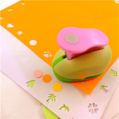 free ship flower furador 5*3*4.5cm diy paper cut Eva Foam Maker puncher scrapbooking labor saving for kid hole punch Embossing