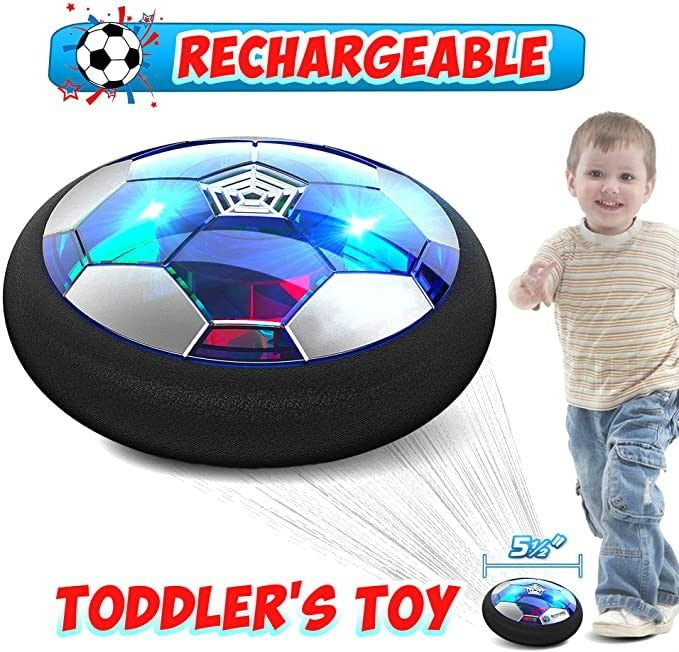 Air Power Hover Soccer Ball Indoor Football  Light Flashing Ball Toys kids sport games