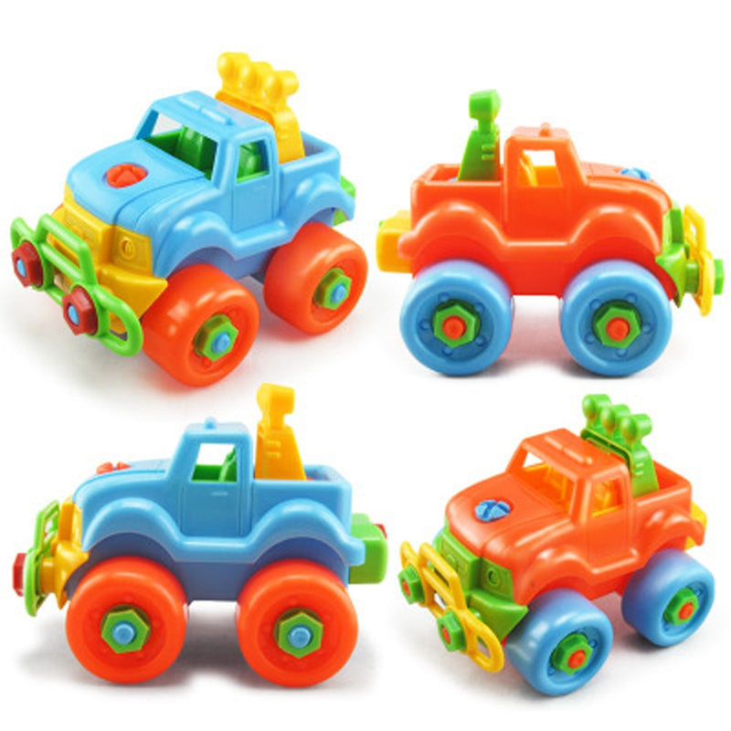 Early Learning Education Screw Nut Group Installed Plastic 3D Puzzle Disassembly Motorcycle Vehicle