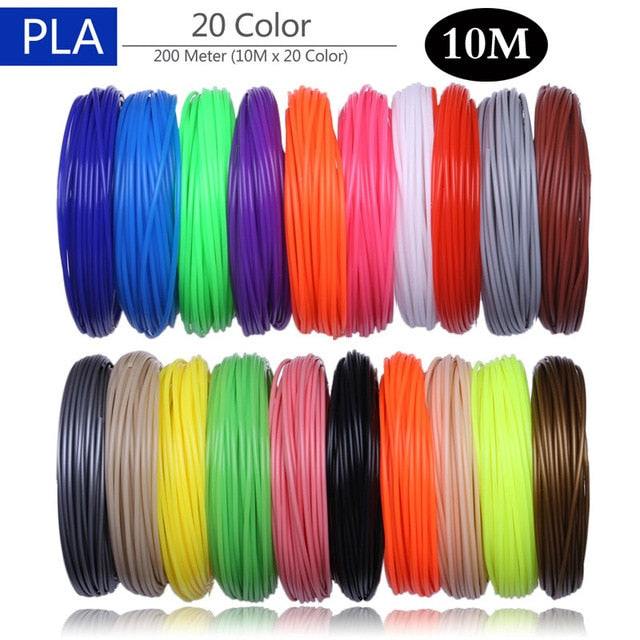Aveiro 50/100/200 Meter 1.75mm ABS PLA Material,Filament 3d Refill 3d handle plastic for 3 D Pen school drawing supplies