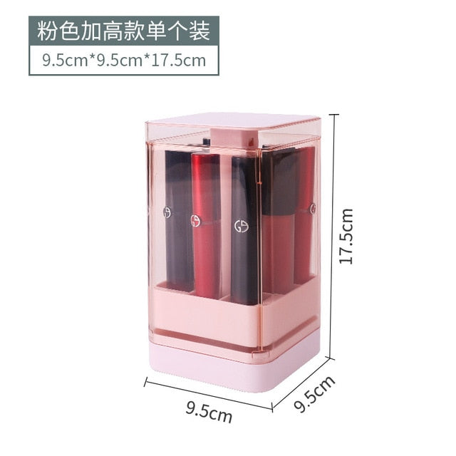 makeup organizer box+jewelry organizer+lipstick organizer,cosmetic storage holder for lipsticks/cream/mask,new arrival