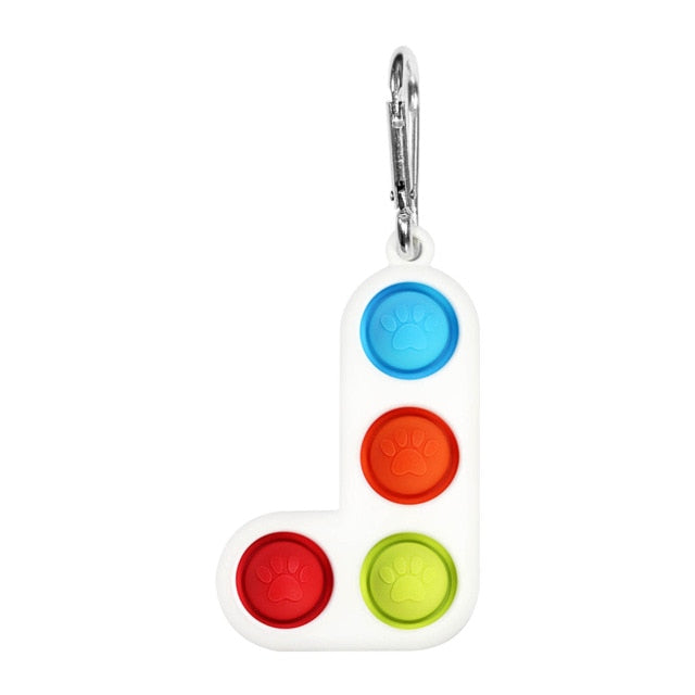 New Fidget Simple Dimple Toy Fat Brain Toys Stress Relief Hand Fidget Toys For Kids Adults Early Educational Autism Special Need
