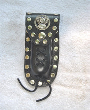 Load image into Gallery viewer, Leather Knife Case - Motorcycle Engine