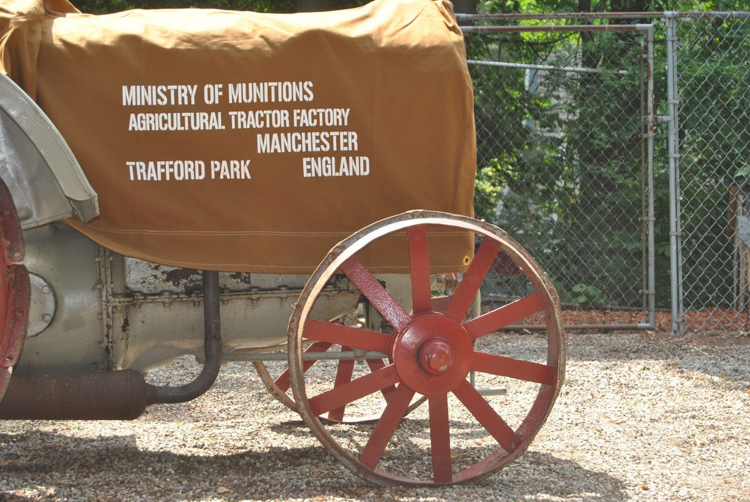 Fordson Model N & F Tractor Cover - Ministry of Munitions