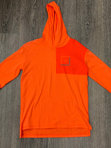 Boys UA Orange Long Sleeve
