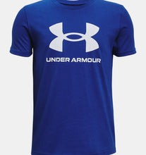 Load image into Gallery viewer, Boys' UA Sportstyle Logo Short Sleeve