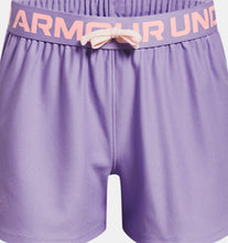 Load image into Gallery viewer, Girls' UA Play Up Shorts