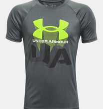 Load image into Gallery viewer, Boys' UA Tech™ Repeat Short Sleeve