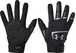 Adult UA Clean Up Batting Gloves Black