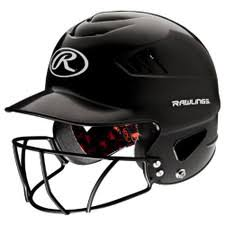 Rawling's Official Batting Helmet With Cage