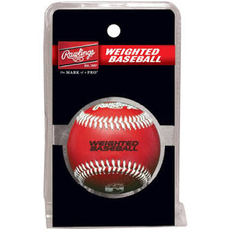 Rawling's Weighted Baseball 9oz Training Ball