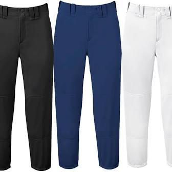 Mizuno Cropped Elastic Bottom Baseball Pant
