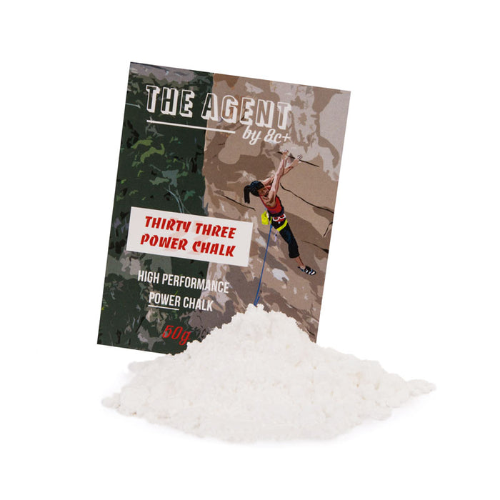 THE AGENT 8C+ 33 POWER CHALK 200g