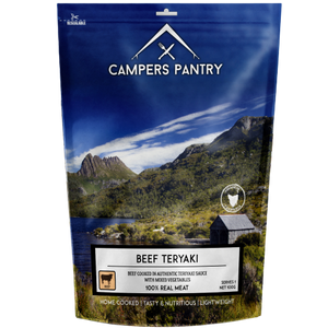 CAMPERS PANTRY BEEF TERIYAKI Double Serve