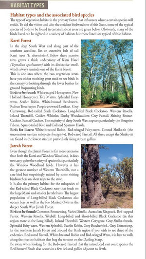 BIRDS OF WESTERN AUSTRALIA The Field Guide