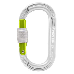 EDELRID OVAL POWER 2500 SCREW Carabiner