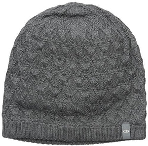 ICEBREAKER DIAMOND LINE BEANIE GRITSTONE HEATHER (CHARCOAL)