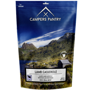 CAMPERS PANTRY LAMB CASSEROLE Double Serve