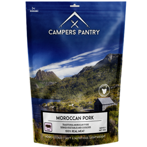CAMPERS PANTRY MOROCCAN PORK Double Serve