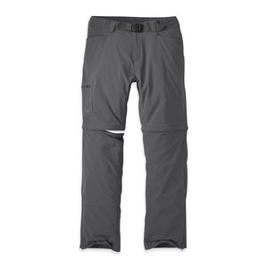 OUTDOOR RESEARCH EQUINOX CONVERTIBLE MEN'S PANT CHARCOAL