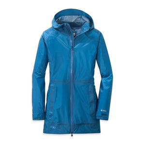 OUTDOOR RESEARCH HELIUM TRAVELER WOMEN'S JACKET BLUE