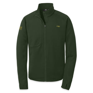 OUTDOOR RES EARCH RADIANT HYBRID MEN'S JACKET GREEN