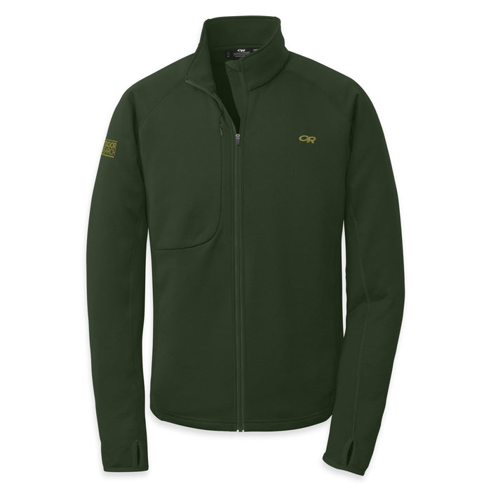 OUTDOOR RESEARCH RADIANT HYBRID MEN'S JACKET