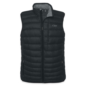 OUTDOOR RESEARCH TRANSCENDENT MEN'S DOWN VEST BLACK