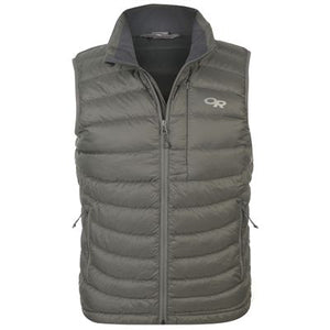 OUTDOOR RESEARCH TRANSCENDENT MEN'S DOWN VEST GREY
