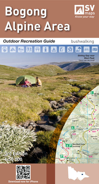 BOGONG ALPINE AREA - SPATIAL VISION MAP