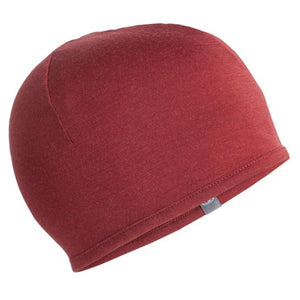 ICEBREAKER 200 POCKET HAT BURGUNDY