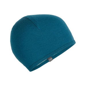 ICEBREAKER 200 POCKET HAT STRIPE TEAL