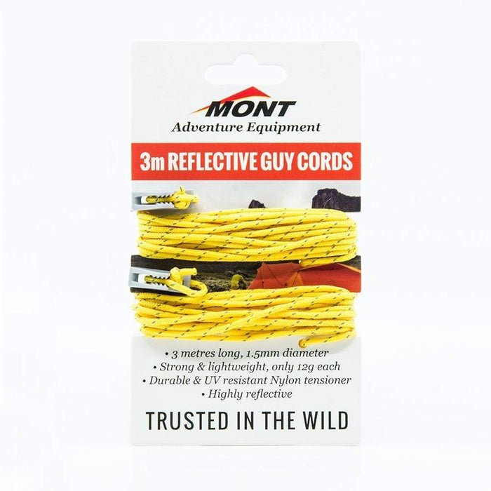 MONT TENT GUY ROPES (PAIR)