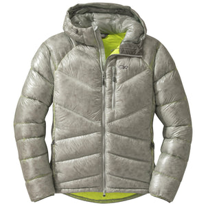OUTDOOR RESEARCH INCANDESCENT MEN'S HOODED DOWN JACKET