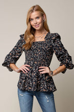 Load image into Gallery viewer, Romantic Floral Blouse
